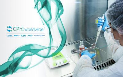 CPhI Worldwide 2019. 5-7 October Frankfurt. Stand 12.1F32