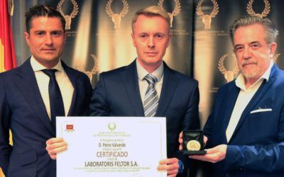 Laboratoris FELTOR, award in recognition of bussines career